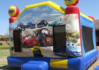Cars2 Bounce House